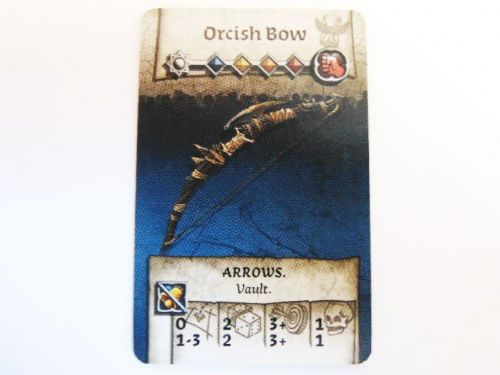 NPC-1 Survivor Equipment Card (Orc Bow)